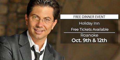 (FREE) Millionaire Success Habits revealed in Roanoke by Dean Graziosi tickets