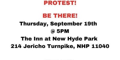 Protest Nra at The Inn @ New Hyde Park