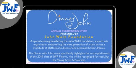 DinnerWithJohn 2019 tickets