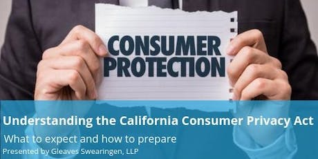 SWV Lunch & Learn: Understanding the California Consumer Privacy Act tickets