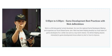 How Game Design Can Improve Your Business with Nick deBoisblanc tickets