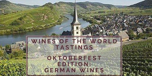 Wines of the World Tasting + Education: German Wines