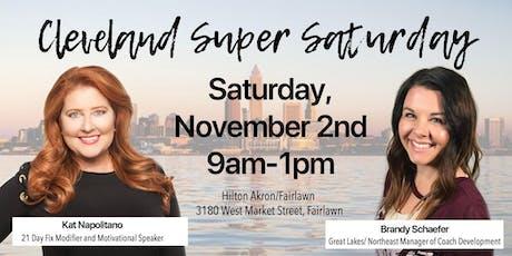 November Cleveland Super Saturday tickets