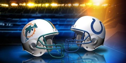 NFL Viewing Party at the TIKI BAR: DOLPHINS vs COLTS