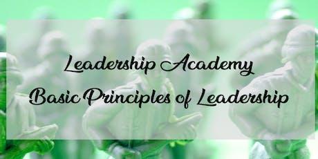 Leadership Academy: Basic Principles of Leadership tickets