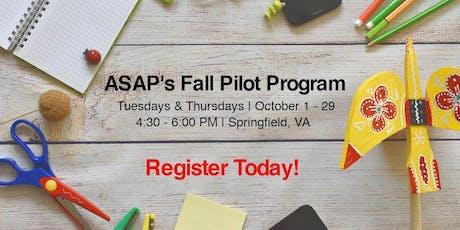 ASAP Innovation Labs Fall Pilot tickets