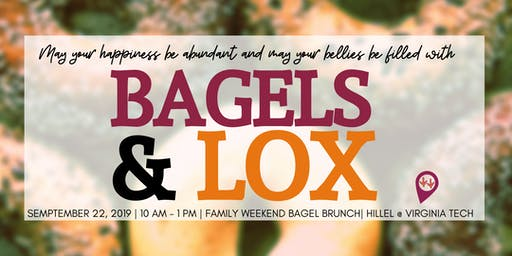Family Weekend  Bagel Brunch