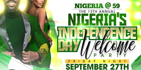 Official Nigeria's Independence Day Welcome Party, Raleigh, NC tickets