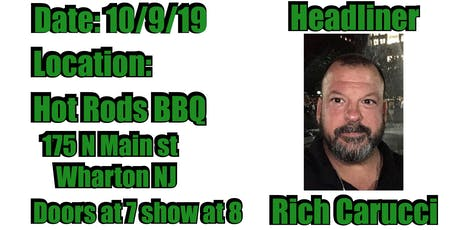 North Jersey Comedy Festival Hot Rods BBQ tickets