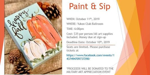 Adult Paint & Sip