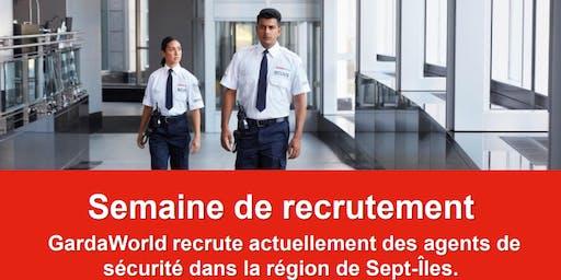 GardaWorld - Semaine de recrutement