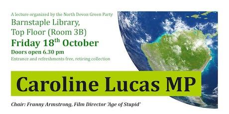 Caroline Lucas in North Devon tickets