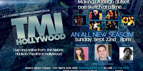TMI Hollywood with Special Guest Erich Lane tickets