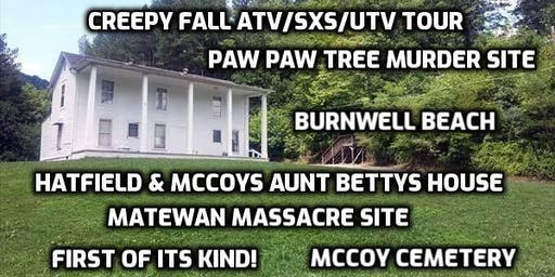 Aunt Betty's House- Creepy Fall History atv/sxs/utv tour