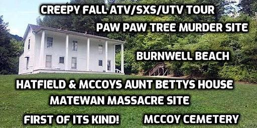 Aunt Betty's House- Creepy  History atv/sxs/utv tour