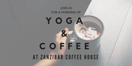 Yoga & Coffee tickets