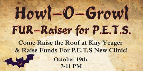 Howl-O-Growl Fur-Raiser for P.E.T.S. tickets