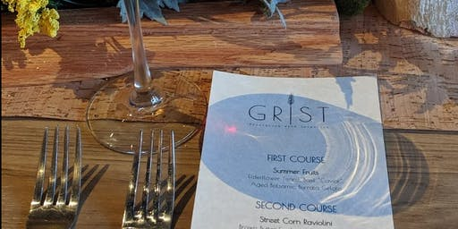 Grist Rooftop Four-Course Dinner