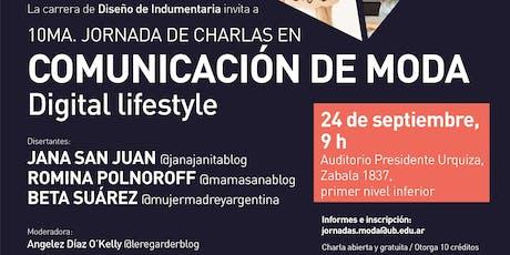 10ma Jornada en Comunicación de Moda tickets