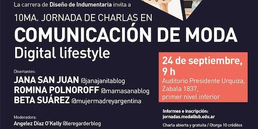 10ma Jornada en Comunicación de Moda