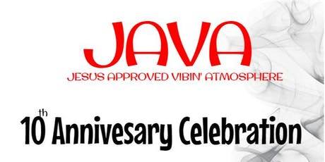 JAVA CAFE 10TH ANNIVERSARY POETRY & LIVE MUSIC tickets
