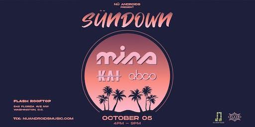 SünDown: Mina w/ Kai + abco at Flash Rooftop