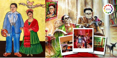 BYOB Dine & Paint: Taco Tuesday FRIDA & DIEGO (Dinner & Movie included!)  tickets