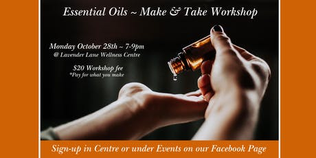 Make & Take Essential Oils Workshop tickets