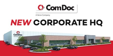Open House for ComDoc's New Corporate HQ tickets