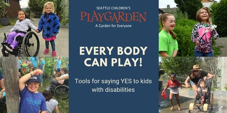 "Tools for Saying ""Yes"" to Kids with Disabilities (11/22)  tickets"