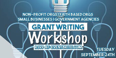 Grant Writing Workshop tickets