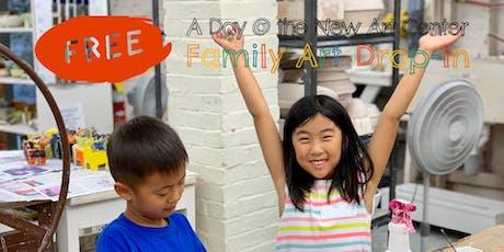 FREE Family Art Drop-In tickets