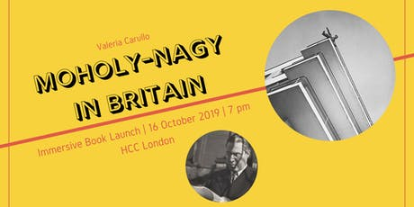 Hungarian Lit Night: Moholy-Nagy in Britain tickets
