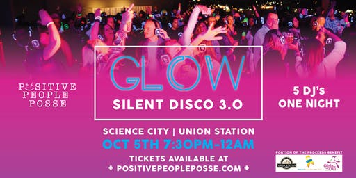 Glow Silent Disco 3.0 at Science City/Union Station