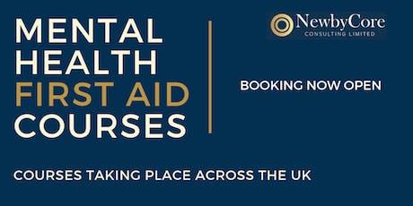 Mental Health First Aid Training - Edinburgh (Weekend) tickets