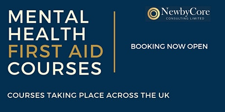 Mental Health First Aid Training - Edinburgh (Weekend) tickets