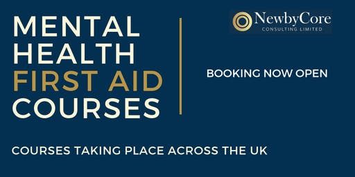 Mental Health First Aid Training - Edinburgh (Weekend)
