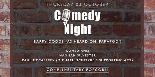 COMEDY AT THE BRICK ROOM