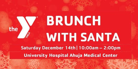 Warrensville Heights Family YMCA Brunch with Santa at  UH Ahuja Hospital  tickets
