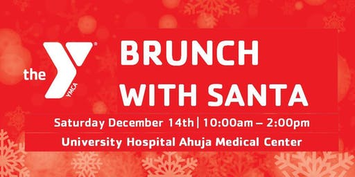 Warrensville Heights Family YMCA Brunch with Santa at  UH Ahuja Hospital