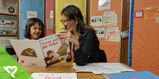 Volunteer with Project Helping to Help Children Learn to Read (Reading Partners)
