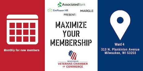 Maximize Your Membership tickets