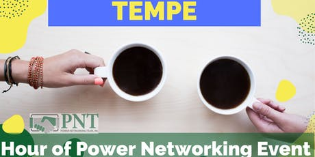 10/30/19 PNT Tempe Chapter - Hour of Power Networking Event (Special Halloween Party) tickets