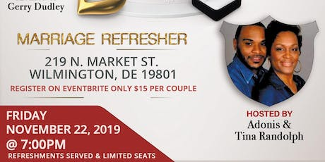 """Not Another Talk About Marriage""- Marriage Refresher  tickets"