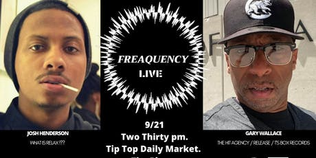 Copy of Copy of Freaquency 360 Live : Josh Henderson x Gary Wallace tickets