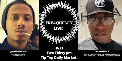 Copy of Copy of Freaquency 360 Live : Josh Henderson x Gary Wallace