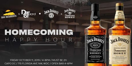 Homecoming Happy Hour powered by Jack Daniels tickets