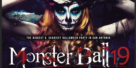 The Monster Ball - SA's Biggest & Scariest Friday Night Halloween Party tickets