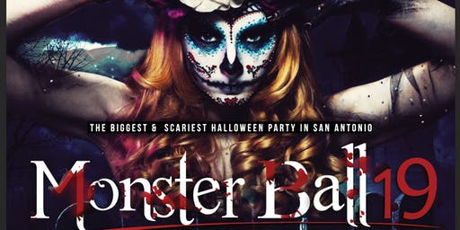The Monster Ball - SA's Biggest & Scariest Friday Night Halloween Party