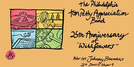The Philadelphia Tom Petty Appreciation Band - Wildflowers 25th Anniversary tickets